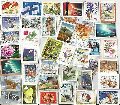 A Lovely Mix Of Commemorative Stamps From Finland