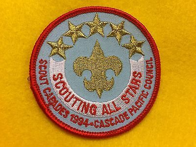 Boy Scouts -  1994 Cascade Pacific Council - Scouting All Stars patch