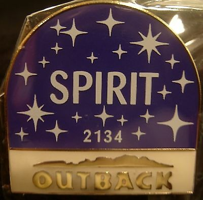 J6009d Outback Steakhouse Spirit Location 2134 hat lapel pin