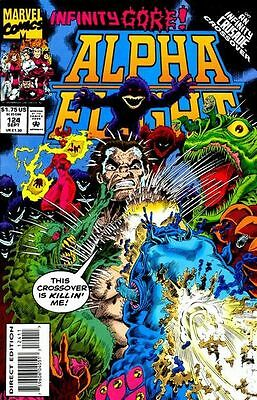Alpha Flight (1983 1st Series) #124 VG LOW GRADE