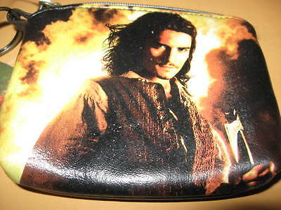 Pirates Of The Caribbean COIN PURSE key chain NEW
