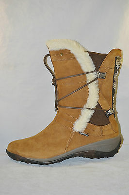 Cushe ALLPINE DREAM SUEDE SLIP ON BOOTS Womens shoes size 11 NEW TAN
