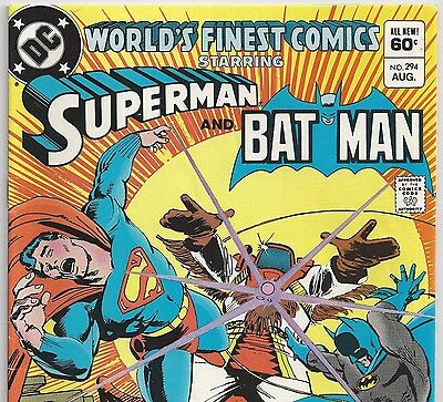 World's Finest Comics #294 Superman, Batman from Aug. 1983 in Fine- condition NS