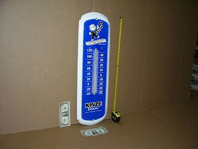 KINZE - FARM MACHINERY IMPLEMENT - 40 Year Anniversary OLD THERMOMETER Dated2005