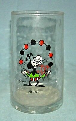 Vintage Arby's Wizard of Id Glasses Bung 1983