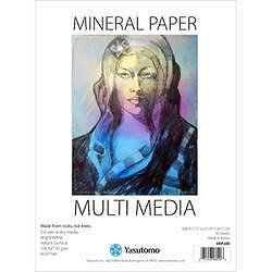 "- Multi-Media Mineral Paper Pad 9""X12"" 20 Sheets"