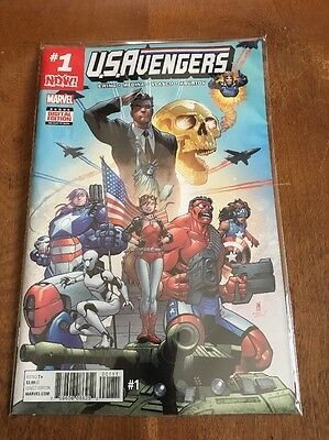 U.S. Avengers # 1 - 3; first three issues of new Marvel series, NM, 2016 - 2017