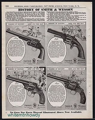 1942 History of the SMITH & WESSON 1869, 1850, 1877, 1870 Revolver AD