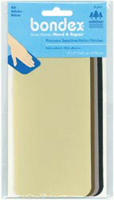 "Multicolor - Bondex Nylon Repair Fabric 3""X7"" 4/Pkg"