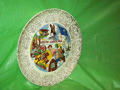 Older South Carolina  Seahorse Resorts Decorative Plate