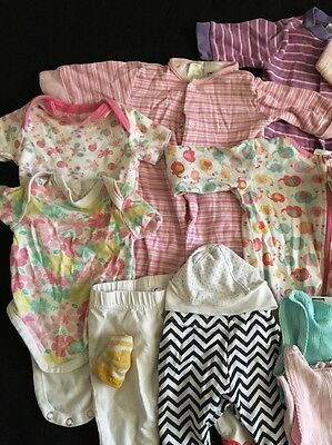 Baby Clothes  Mixed Bulk Girls 000 Items Lot #16