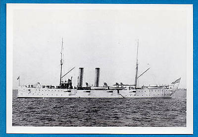 1900s US Navy Cruiser C-9 USS Montgomery Photo