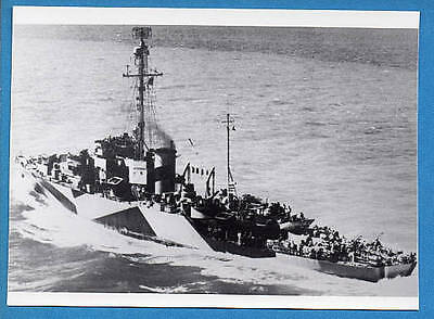 1944 US Navy Frigate PF-52 USS Allentown Photo