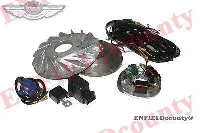 6V To 12V Stator  + Flywheel Conversion Kit Vespa Vbb Vba Vna Super Sprint @aus
