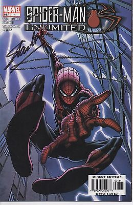 STAN LEE personally signed Marvel comic - SPIDERMAN UNLIMITED