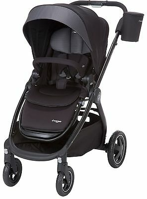 Maxi-Cosi Adorra Reversible Seat Baby Stroller Use From Birth Devoted Black NEW
