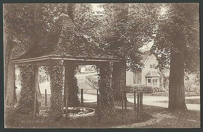 Chenies Buckinghamshire The Well Vintage Printed Postcard