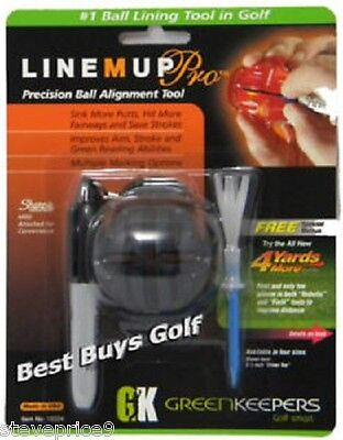 Line M Up Pro Golf Ball Marker Alignment System
