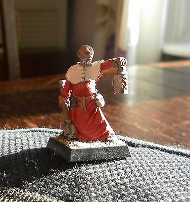 Battle Monk Lead Figure Painted And Based