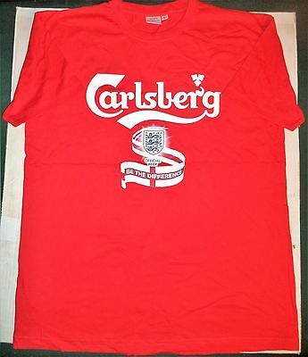 Carlsberg Official Beer Be The Difference Large England Football Shirt