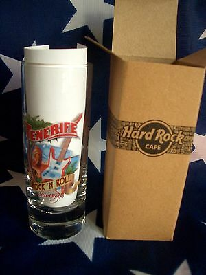HRC Hard Rock Cafe Tenerife Teneriffa City Tee 2016 Shot Glass Schnapsglas New