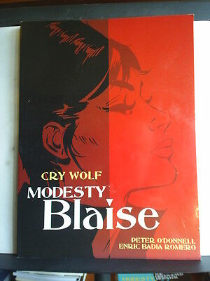 GRAPHIC NOVEL: MODESTY BLAISE - CRY WOLF - Paperback 2006 1st print