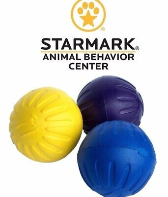 Starmark Durafoam Ball Dog Toy - Size Medium