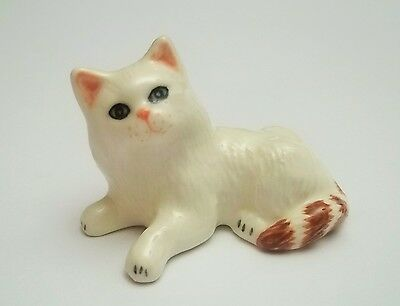 chat miniature en porcelaine,collection,animal,, cat, kat, poes  G-tp11-12