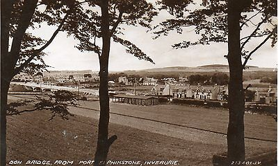 Inverurie,Don Bridge From Port Phinstone. See scans