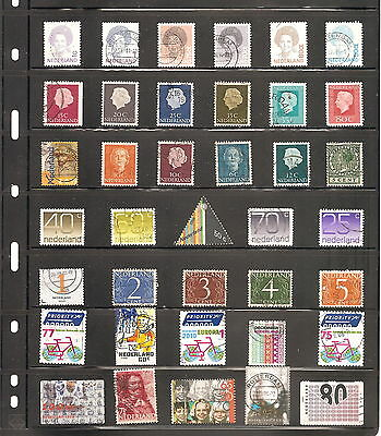 A   Sheet Of 38 Netherlands   Fine Used   Stamps