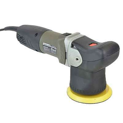 "Random Orbital Polisher 1800-7000 RPM 7 Amp 800W 5"" Hook & Loop & 5"" Buffing Pad"