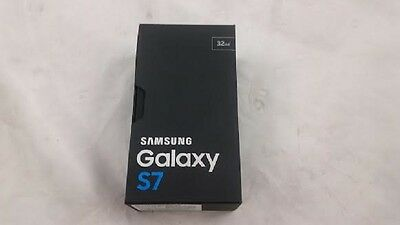 Black Onyx Empty Packing Box For Samsung Galaxy S7 box only 32GB Verizon