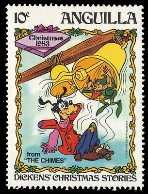 "ANGUILLA 553 (SG583) - Disney's Christmas ""The Chimes"" (pf32961)"