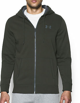 Under Armour Storm Rival Full Zip Mens Hoody - Green