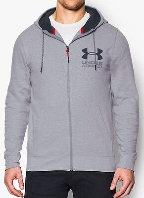 Under Armour Triblend Full Zip Mens Hoody - Grey