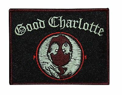 Good Charlotte Chronicles Life Embroidered Iron On Applique Patch p1739