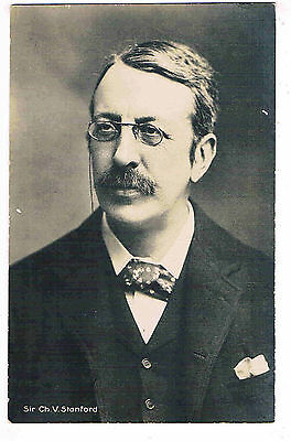 Musician - Rppc - Sir Charles V. Stanford, Irish Composer And Conductor, 1906