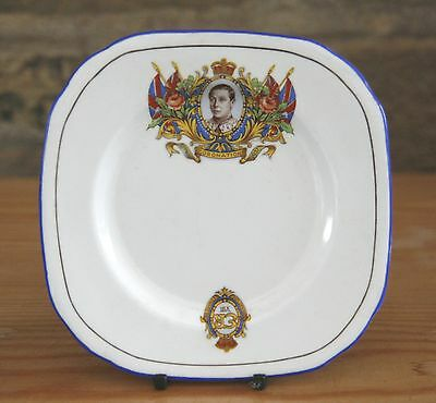 LOVELY VINTAGE  Edward VIII (1937)  ROYAL CORONATION CHINA PLATE
