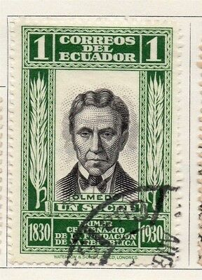 Ecuador 1930 Early Issue Fine Used 1S. 134189