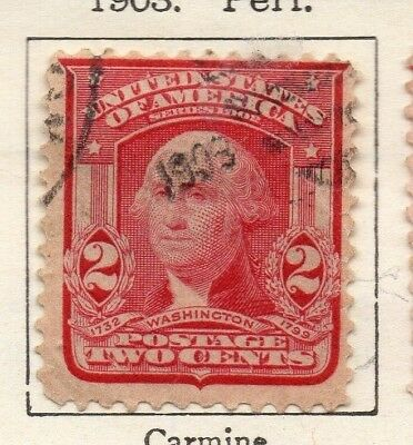 United States 1903 Early Issue Fine Used 2c. 134306