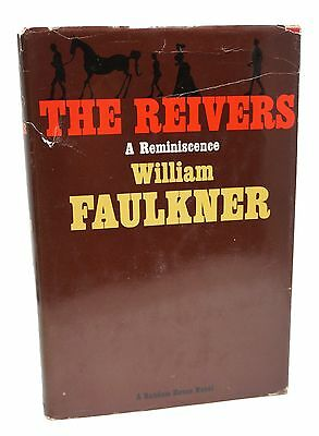 The Reivers First Edition William Faulkner 1st Printing 1962 Book