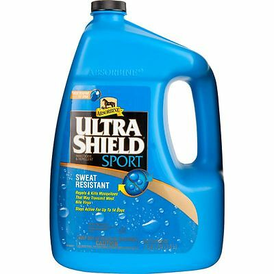 Gallon Ultra Shield SPORT Horse Fly Spray Conditions Sweat Resistant $10 Rebate