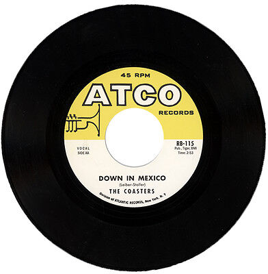 "The Coasters  ""down In Mexico""  All Time R&b Classic    Listen!"