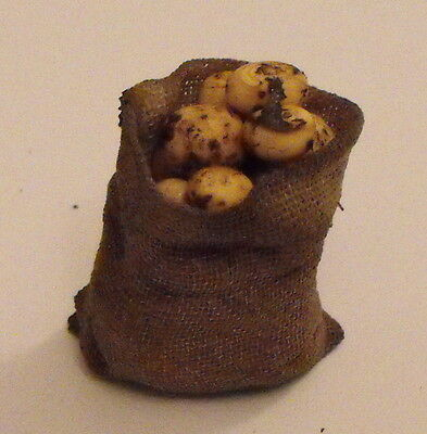 12th SCALE TUDOR SACK OF POTATOES BY RYCOTE MINIATURES.
