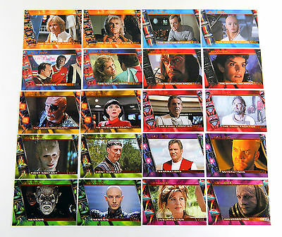 2007 Rittenhouse Complete Star Trek Movies Profiles Chase Set (P1-P20) Nm
