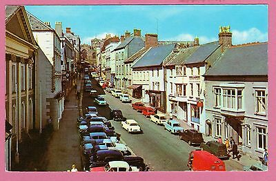Unposted 1960s card. High Street, Haverfordwest, Pembrokeshire