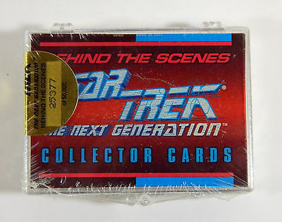 1993 Star Trek The Next Generation Behind-The Scenes Sealed Chase Set (39) Mint
