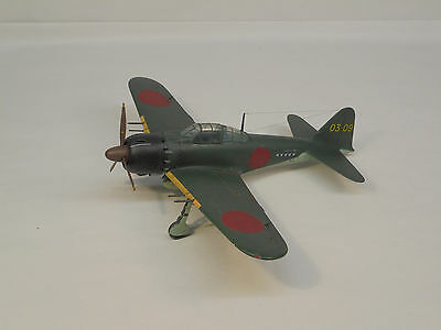 Mitsubishi A6M5 Zero, 1/48 scale, built & finished for display, airbrushed, fine