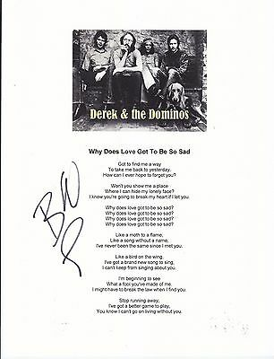 Signed l Derek and the Dominos lyrics by Bobby Whitlock Eric Clapton related