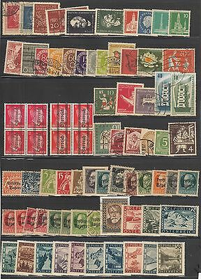 Austria/germany Mini Collection Of 160 Mint & Used Stamps. Clean Lot